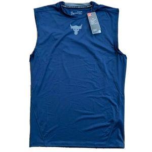 Under Armour Project Rock Sleeveless T Shirt Tank